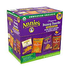 Annies Organic Bunny Snacks Variety Pack