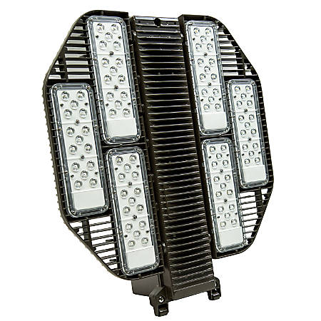 US LED Dorado2 LED Area Light, 5000 Kelvin, 373-Watt, 45,200 Lumens, Bronze