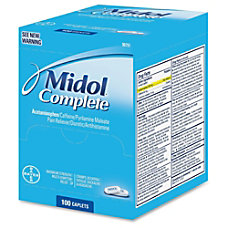 Acme United Midol Complete Pain Reliever