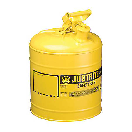 Type I Safety Cans, Diesel, 1 gal, Yellow