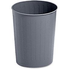 Safco Round Wastebasket 5 78 Gallons
