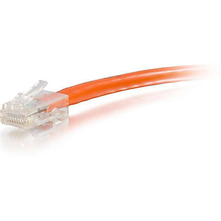 C2G-150ft Cat6 Non-Booted Unshielded (UTP) Network Patch Cable - Orange