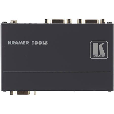 Kramer VP-200K 1:2 Computer Graphics Video Distribution Amplifier - 400 MHz to 400 MHz - VGA In - VGA Out