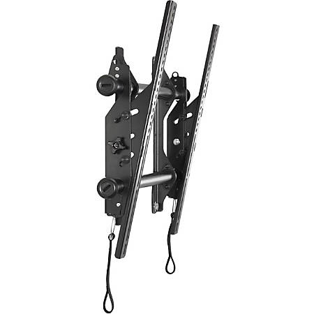 """InFocus INF-WALLMNT2 Wall Mount for Flat Panel Display - Black - 37"""" to 63"""" Screen Support - 200 lb Load Capacity"""