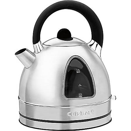 Cuisinart Cordless Electric Kettle - 1500 W - 1.80 quart - Stainless Steel