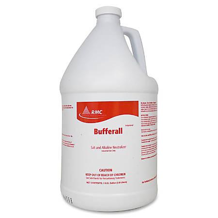 RMC Bufferall Salt/Alka Neutralizer - Liquid - 1 gal (128 fl oz) - 1 Each - Clear