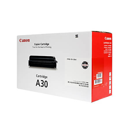 Canon A30 Black Toner Cartridge (1474A002AA)