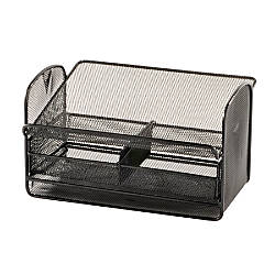 Safco Onyx Mesh Telephone Stand With