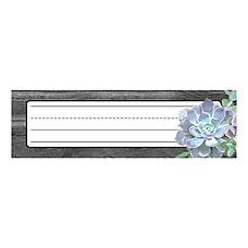 Schoolgirl Style Desk Nameplates 9 12