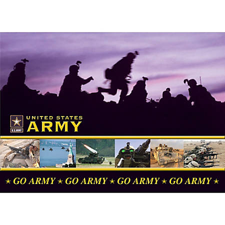 "Integrity Desk Pad, 17"" x 24"", Army Nightflight, Pack Of 6"