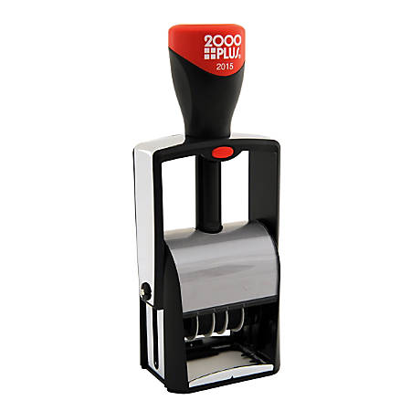 2000 PLUS® Self-Inking Dater, Line, #1 1/2 (Date Only)