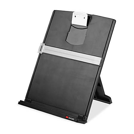 3m Desktop Doent Holders 18 Blacksilver