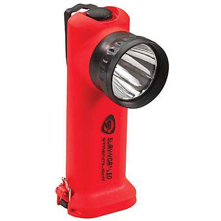 Streamlight® Survivor® Alkaline LED Flashlight, Orange