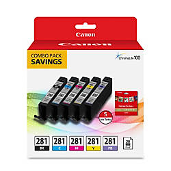 Canon CLI 281 BKCMYPB Ink Tanks