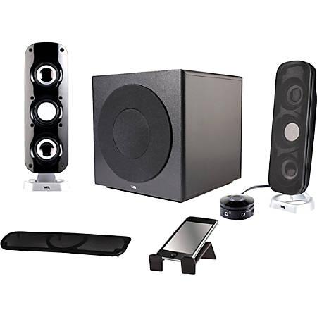 Cyber Acoustics 2.1 Speaker System, 36 W RMS, CA-3908