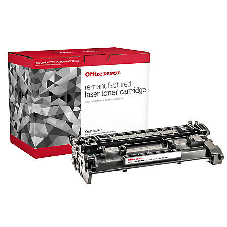Office Depot® Brand OD26A Remanufactured Toner Cartridge Replacement For HP  26A Black Item # 402146