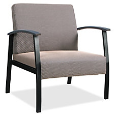 Lorell Big Tall Guest Chair Taupe