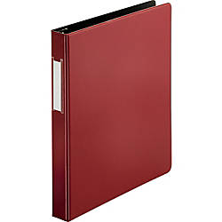 Business Source Slanted D ring Binders