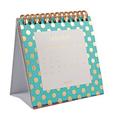 Divoga Monthly Desktop Self Standing Calendar