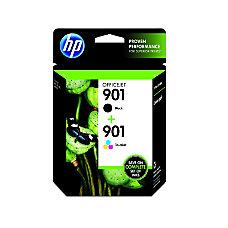 HP 901 BlackColor Original Ink Cartridges