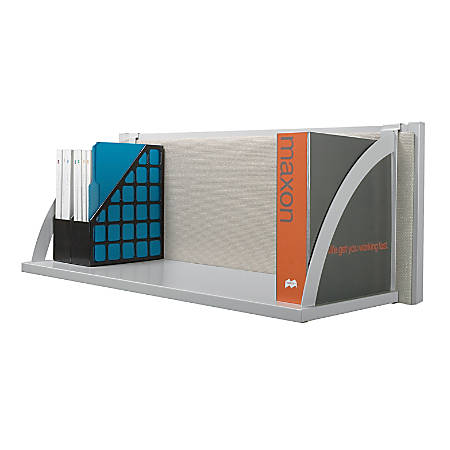 "basyx by HON® Verse Hanging Storage Shelf, 14 1/2""H x 30""W x 14""D, Gray"