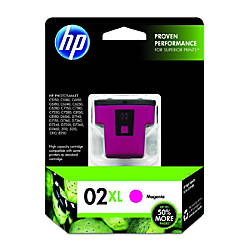 HP 02XL Magenta Original Ink Cartridge