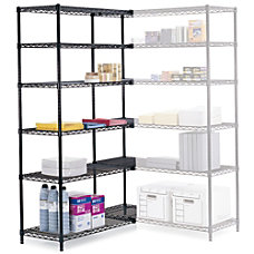 Safco Industrial Wire Shelving Starter Unit