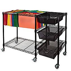 Vertiflex Mobile File Cart 28 H