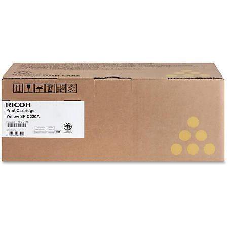 Ricoh 406044 Yellow Toner Cartridge