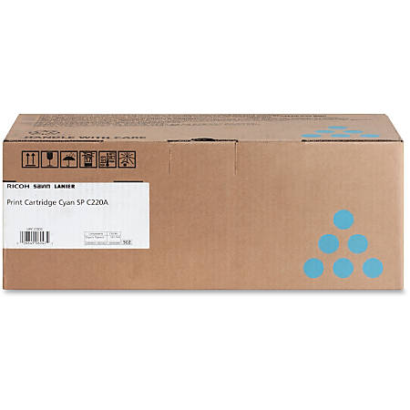 Ricoh SP C220A - Cyan - original - toner cartridge - for Ricoh SP C220N, SP C220S, SP C221N, SP C221SF, SP C222DN, SP C222SF, SP C240SF