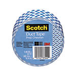 "Scotch® Colored Duct Tape, 1 7/8"" x 10 Yd., Prep Chevron"