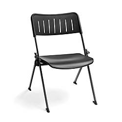 OFM Stanza Nesting Chairs BlackGray Set