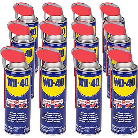 WD-40 Multi-use Product Lubricant - 11.83 fl oz - Corrosion Resistant