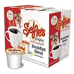 Selfies Single Cups Breakfast Blend 035