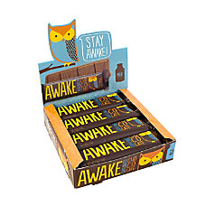 AWAKE Caffeinated Milk Chocolate Bars 15