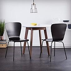 Holly Martin Cadby Side Chairs BlackChrome