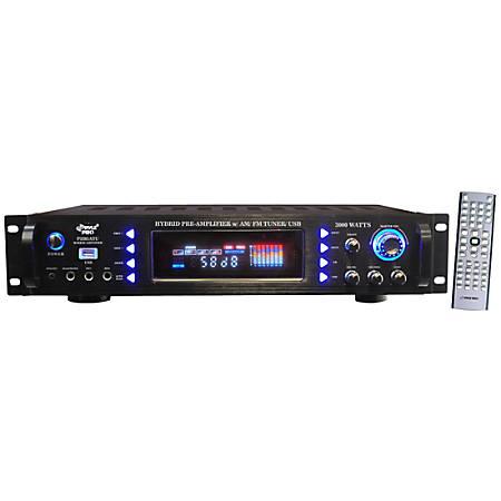 PylePro P3201ATU Amplifier - 800 W RMS - 2 Channel