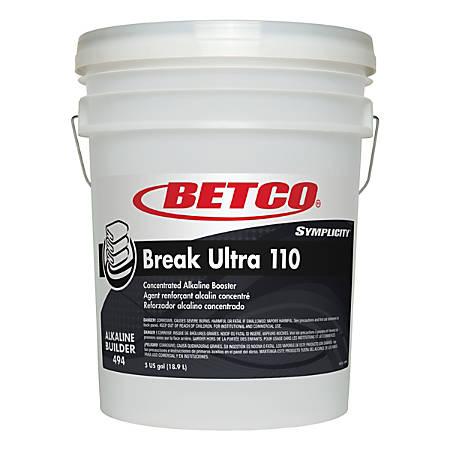 Betco® Symplicity™ Break Ultra 110 Alkaline Booster, 1,029 Oz