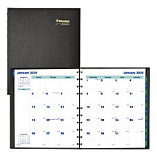 Blueline MiracleBind CoilPro 17 Month Planner