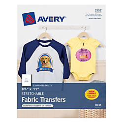 Avery Personal Creations Stretchable T Shirt