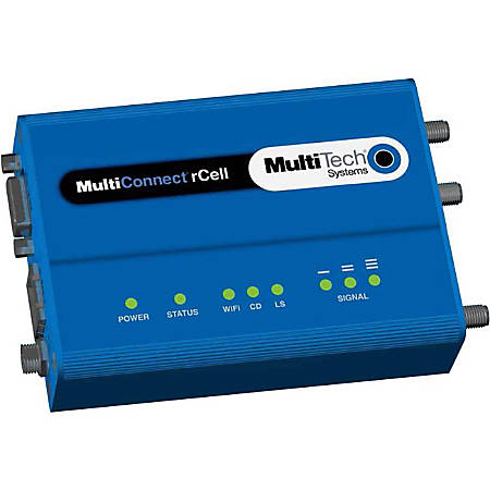 Multi-Tech MultiConnect rCell MTR-C2  Wireless Router - 3G - 1 x Network Port - Fast Ethernet - VPN Supported
