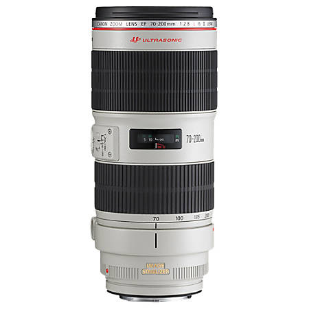 Canon EF 2751B002 - 70 mm to 200 mm - f/2.8 - Telephoto Zoom Lens