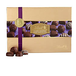 Lindt Chocolate Dark Assortment Gold Gifting