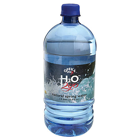 Water To Go® 100% Pure Spring Water, 33.8 Oz., Case Of 12