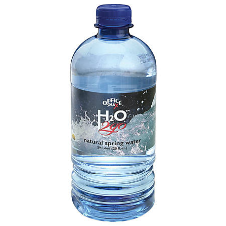 Water To Go® 100% Pure Spring Water, 20 Oz., Case Of 24