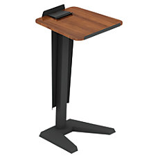 Lorell Impromptu Lectern With Modesty Panel
