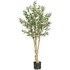 Nearly Natural 5H Silk Olive Tree