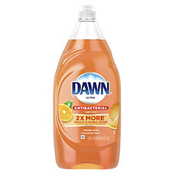 Dawn Ultra Dish Soap Antibacterial Orange
