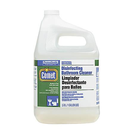 Comet® Disinfecting Bathroom Cleaner, 1 Gallon, Case Of 3