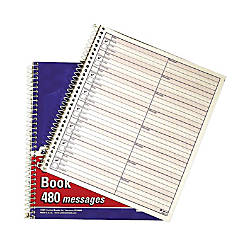 Adams Voicemail Log Books 7 12